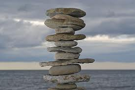 Am I in balance? Or on my way from too down to too up?  Breathe and watch - and trust.