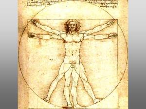 The da Vinci Vitruvian Man represents for me an image of wholeness, of integration.
